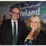 Tourism Ireland hosted group workshops in the Canadian Museum of Nature. From left: Irish Ambassador Jim Kelly and marketing manager Dana Welch. (Photo: Ülle Baum)