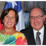 To celebrate the 209th anniversary of the independence of Chile, Ambassador Alejandro Maricio and his wife, Maria Cecilia Beretta, hosted a reception at Ottawa City Hall. (Photo: Ülle Baum)