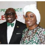 On the occasion of Nigeria's 59th anniversary of independence, High Commissioner Adeyinka Asekun and his wife, Olawunmi Asekun, hosted a reception at the Westin Hotel. (Photo: Ülle Baum)