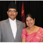 On the occasion of the national day of Nepal, Ambassador Bhrigu Dhungana and his wife, Sangita Dhungana, hosted a reception at Ottawa City Hall. (Photo: Ülle Baum)