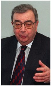 Former foreign minister and prime minister Yevgeny Primakov is the author of an eponymous  doctrine that sees a world dominated by the U.S. as unacceptable. (Photo: Robert d. Ward, U.S. department of defense)