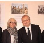 Jewish veterans from Canada and the Russian Embassy hosted a memorial concert commemorating the 75th anniversary of the liberation of Auschwitz. From left: Israeli Chargé d'Affaires Marc Attali, German Ambassador Sabine Anne Sparwasser, Russian Ambassador Alexander Darchiev and Moshe Ronen, vice-president of the World Jewish Congress. (Photo: Ülle Baum)