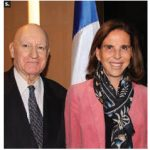 French Ambassador Kareen Rispal gave a lecture titled France and Canada: Strong relations in a challenging world at the Ambassador Speaker Series at the Westin Hotel, organized by the Norman Paterson School of International Affairs. Shown with Rispal is organizer Lawrence Lederman. (Photo: Ülle Baum)