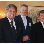 Paul Y. Fortin, principal of the Fortin Consulting Group, and Gar Knutson hosted lunch at the Rideau Club to discuss the current events of Canadian politics with members of the diplomatic corps. From left: Vietnamese chargé d'affaires Nguyen Huong Tra, Fortin, Daniel Hohnstein, partner at Tereposky and DeRose LLP., Polish Ambassador Andrzej Kurnicki and Brian R. Naranjo, minister-counsellor for political affairs at the U.S. Embassy (Photo: Ülle Baum)