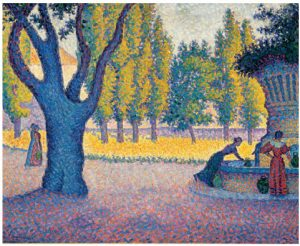 More than 100 of French post-Impressionist painter Paul Signac's works, one of which is shown above, will be part of the Montreal Museum of Fine Arts exhibit, Paris in the Days of Post-Impressionism: Signac and the Indépendants, from March 28 to Sept. 27. It will feature 500 works in total. that includes work by Monet, Gaugin and many others. It runs March 28 to Sept. 27. (Photo: Phil Norton)