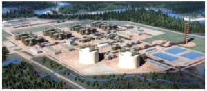 LNG Canada, a $40-billion project, represents Canada's largest and most promising investment project, and Japan has made substantial investment in it. (Photo: LNG Canada)