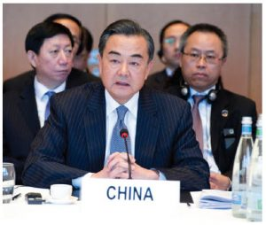 """Chinese Foreign Minister Wang Yi has asserted that """"there is nothing to support the claim that China is using COVID-19 to expand its presence in the South China Sea.""""  (Photo: UN pHoto)"""