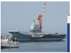 While the U.S. navy was fighting COVID-19, the Chinese sortied their aircraft carrier Liaoning, shown here, and her escorts through Taiwanese waters in April and May out into the Western Pacific. (Photo: Tyg728)