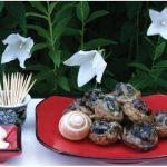 Escargot-stuffed Mushroom Tempura. (Photo: Margaret Dickenson)