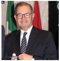 Tunisian Ambassador Mohamed Imed Torjemane received the ambassador of the year award. (Photo: Ülle Baum)
