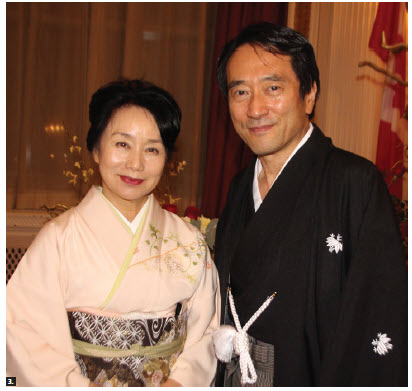 On Japan's national day and the birthday of the Emperor of Japan, Ambassador Yasuhisa Kawamura and his wife, Miho, hosted a reception at the Fairmont Château Laurier. (Photo: Ülle Baum)