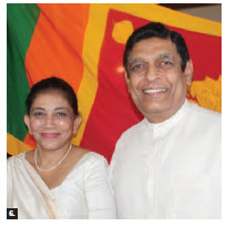Sri Lankan High Commissioner Madukande Asoka Kumara Girihagama and his wife, Sudarma, hosted a luncheon and cultural performance at their official residence to celebrate the Thai Pongal multi-day Hindu harvest festival. (Photo: Ülle Baum)