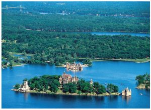 Thousand Islands National Park is gradually reopening this summer. The park is along the St. Lawrence River, east of Kingston and offers camping in an oTENTik, a cross between a tent and a cabin, for those who book early. The park also features Boldt Castle, pictured here. (Photo: Teresa Mitchell)
