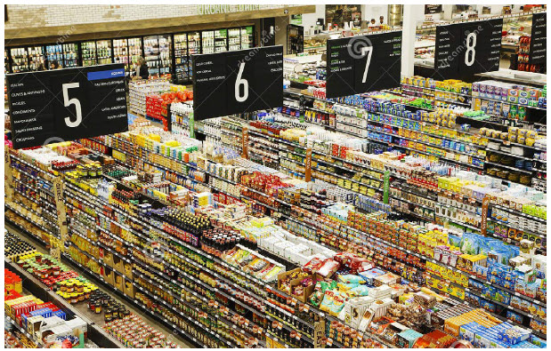 At the start of the pandemic, grocery workers became front-line workers and heroes for keeping the shelves stocked and food supplies moving. (Photo: Dreamstime | © anjelagr)