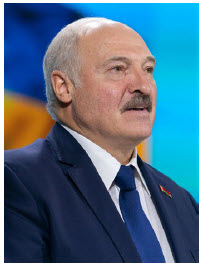 Belarusian President Alexander Lukashenko is being supported by Russia while his citizens protest in the street. (Photo: president.gov.ua)