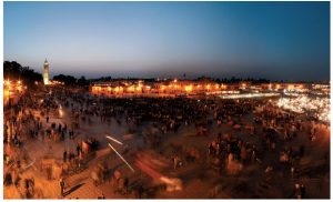 In 2001, Jemaa el-Fna Square in Marrakech was proclaimed by UNESCO as a masterpiece of the oral and intangible heritage of humanity. (Photo: Morocco National Tourist Office)