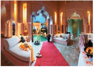 This is a traditional Moroccan home in Riad, and a symbol of the country's well-known hospitality. (Photo:  Rochdiwafik)