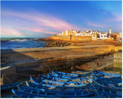 The fortified city of Essaouira earned its place on the UNESCO World Heritage list with its medina and European military design. (Photo: © Marius Dorin Balate | Dreamstime.com)