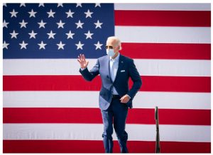 While discourse will be more civil between Canada and the U.S. under Joe Biden as president, protectionist impulses run deep in his Democratic Party. (Photo: Adam Schultz / Biden for President)