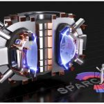 SPARC, a compact, high-field, DT-burning tokamak shown in this rendering, is currently under design by a team from the Massachusetts Institute of Technology and Commonwealth Fusion Systems. Its mission is to create and confine a plasma that produces net fusion energy. (Photo: T. Henderson, CFS/MIT-PSFC)