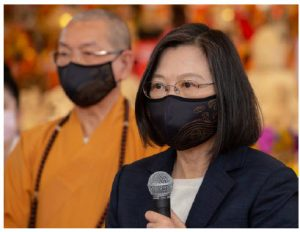 The response to the COVID-19 pandemic has drawn attention to differences in female and male leadership styles. Countries run by women, such as Taiwan's President Tsai Ing-wen, have fared better. (Photo: Wang Yu Ching )