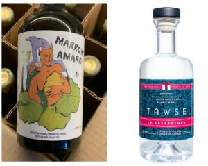 Marrow Vermouth is making vermouth and amaro while Tawse winery is distilling its own grape pomace to produce three kinds of grappa. (Photo: Tawse / Marrow vermouth)