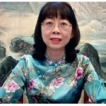 """Tong Zhang, shown here, wife of Chinese Ambassador Peiwu Cong, hosted an online cultural salon featuring """"600 years of the Forbidden City"""" with special guest speaker Meixia Guo, director of publicity and education of the Palace Museum. (Photo: Ülle Baum)"""