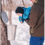 Maple syrup — and visiting the bushes where it's made — is a quintessential central Canadian experience and it's a COVID restriction-friendly outdoor activity. (Photo: Elizabeth Fulton Photography)