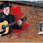 This mural depicting Stompin' Tom Connors is one of more than two dozen murals in Carleton Place, a 35-minute drive southwest of Ottawa. (Photo: Ryan Gordon)