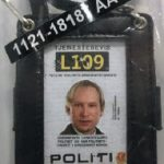 The identification Anders Behring Breiviks used to pose as a police officer on the island of Utøya, where he killed 69 young campers. (Photo: Wolfmann)