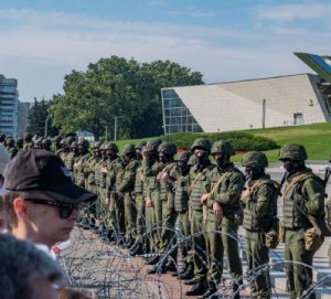 Belarusian officials have cracked down on protesters who are demanding democracy in Belarus and, according to observers, protesting the neither free nor fair election of Alexander Lukashenko. (Photo: Homoatrox)