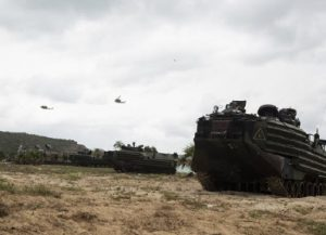The United States routinely conducts a large annual military exercise with Thailand, Singapore, South Korea, Indonesia, Japan and Malaysia called Cobra Gold, shown here. (Photo: Lance Cpl. Hannah Hall)