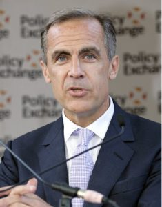 Famous Canadians, such as Mark Carney (shown here), who served as governor of the Bank of Canada and then lived abroad as governor of the Bank of England, are potential champions of this country's reputation and influence, according to author John Stackhouse. (Photo: Policy Exchange)