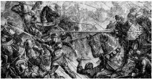 Upwards of 28,000 may have died at the Battle of Towton, depicted here, during the Wars of the Roses. (Photo: Jappalang)