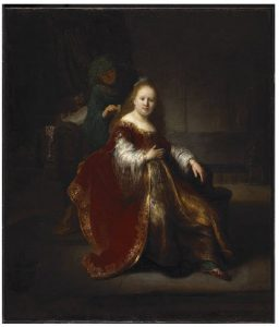 Rembrandt's Heroine from the Old Testament (1632/33, oil on canvas) is coming to the big summer show at the National Gallery of Canada.  (Photo: National Gallery of Canada)