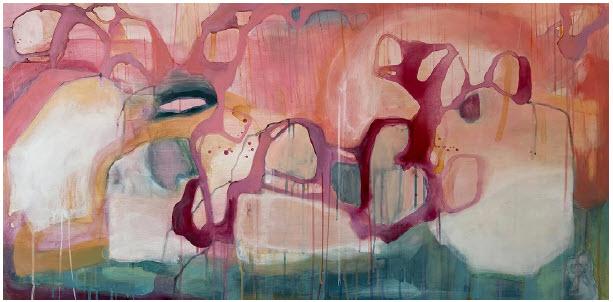 Resembling, by Sarah Anderson at Sivalrasa Gallery. (Photo: Sivalrasa Gallery)
