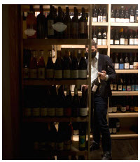Alex McMahon, of Arlo, is one of the city's most innovative sommerliers. He has a wine club that delivers six wines to members each month. (Photo: Remi Theriault)