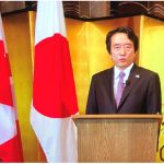 To mark the National Day of Japan and the birthday of His Majesty the Emperor of Japan, Ambassador Yasuhisa Kawamura and his wife, Miho Kawamura, hosted a virtual celebration. Ambassador Kawamura delivered opening remarks. (Photo: Ülle Baum)