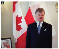 The Embassy of Poland hosted a virtual concert on the 16th anniversary of the death of Pope John Paul II. Ambassador Andrzej Kurnicki delivered remarks and Canadian and Polish musicians took part in a concert. (Photo: Ülle Baum)