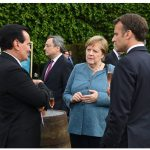 In its original Atlantic Council-CIGI formulation, the D-10 was aimed to unify Western democracies in dealing with Russia. Then-U.S. president Barack Obama and allies such as Angela Merkel, shown here at the recent G7, worked on Russian incursions in Ukraine and its meddling with other neighbours. (Photo: ©Karwai Tang/G7 Cornwall 2021)