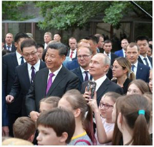 Some argue we are witnessing a return to power politics with Chinese President Xi Jinping's muscle-flexing and resurgent Russia under President Vladimir Putin. Putin and Xi are shown here. (Photo: Alexey Druzhinin / The Presidential Press and Information Office)