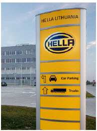 Electronics manufacturer Hella was attracted to locate in Lithuania by the country's tax incentives and fast-track incorporation program. (Photo: HELLA GmbH & Co)