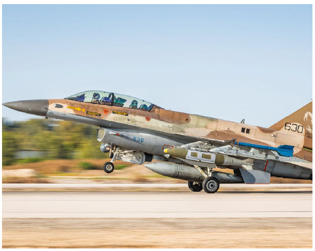 Hatzor Israeli Air Force Base: A ceasefire took hold on May 21 after 11 days of fighting and with U.S. intervention and and support from the United Nations, Egypt and Qatar to the then-Netanyahu government in Tel Aviv. (Photo: Amit Agronov)
