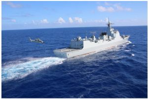 Beijing now has the world's largest navy of 250,000 sailors and 355 warships that it can focus on Taiwan should it choose to do so, but it is important to note that half its tonnage is in smaller ships. (Photo: United States Navy)