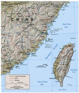 China has the world's largest military machine of more than two million troops that might be turned on Taiwan at any time and with little warning. (Photo: U.S. Central Intelligence Agency)