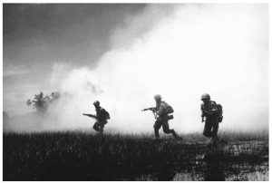 The Vietnam War involved many Canadians. Those who think Canada was just a haven for draft dodgers need to read The Devil's Trick: How Canada Fought the Vietnam War. (Photo: U.S. Information agency)
