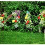 This Ikebana arrangement by artist Michael Charron from Gatineau, Qué., is titled Fire Works. (Photo: Ülle Baum)