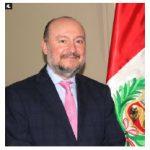 Peruvian Ambassador Roberto Rodriguez Arnillas spoke at a full-day virtual summit of the Peruvian Canadian Institute hosted by Huntington University. (Photo: Ülle Baum)