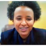 The Ethiopian Embassy hosted a webinar titled The Grand Ethiopian Renaissance Dam: an opportunity for co-operation or a cause for confrontation? Lemlem Fiseha, a lawyer and member of the negotiating team at Ethiopia's foreign ministry, was one of the panellists. (Photo: Ülle Baum)