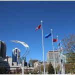 To celebrate Europe Day in Canada, the European Union flag was raised at Ottawa City Hall and at many cities across Canada. (Photo: Ülle Baum)